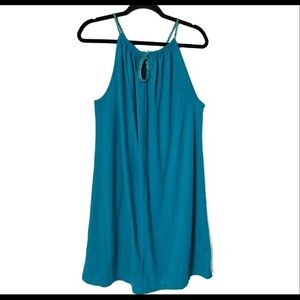 Teal/turquoise tunic/dress